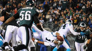 PHILADELPHIA – Not even a rookie rushing record by Bryce Brown could halt the losing ways of the Philadelphia Eagles on Monday night.