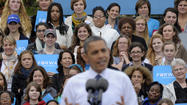 Obama's share of younger voters smaller than in 2008