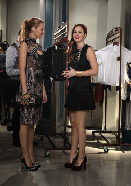 Sage realizes that the Gossip Girl photo is a fake, but she still shows up at the fashion show in order to publicly trash Blair's new line. Blair immediately suspects that Serena sabotaged her, and she demands that Serena come up with a new scheme if she really wants forgiveness. In a surprisingly mature and eloquent response, Serena promises Blair that she'll do whatever she can, but that no scheme is necessary this time -- the clothes are flying off the racks, and even Sage's snobby friends are fighting over them. With amends finally made, Serena goes home to talk to Dan about their future. She reminds him that he once said that if they ever got back together, it would be for the long haul ¿ and he tells her that she has always been the one. First season deja vu, anyone?