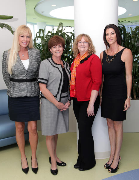 Jen Klaassens, left, Rebecca Kordsmeier, Sandy Santoro and Kim Sweers promote the 2012 March of Dimes Women of Distinction Annual Award. The honorees will be announced during a luncheon, which will take place Dec. 13 at the Marriott Harbor Beach Resort & Spa located in Fort Lauderdale. The award is designed to honor women whose achievements, both professionally and personally, serve as an example to the Broward County community.