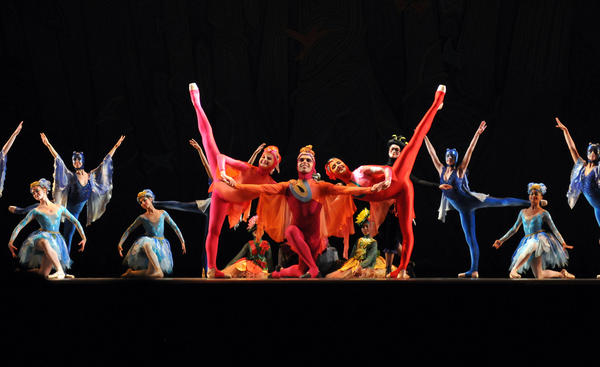 "On Nov. 3 more than 2,000 people attended Miami City Ballet School's Ballet for Young People performance of ""Carnival of the Animals — The Swansong."" Presented in a partnership with the Palm Beach Zoo, the ballet celebrated how the world can be become a better place when animals and humans work together. To see more photos from Society Scene's Palm Beach edition, visit www.Facebook.com/SocietyScene."