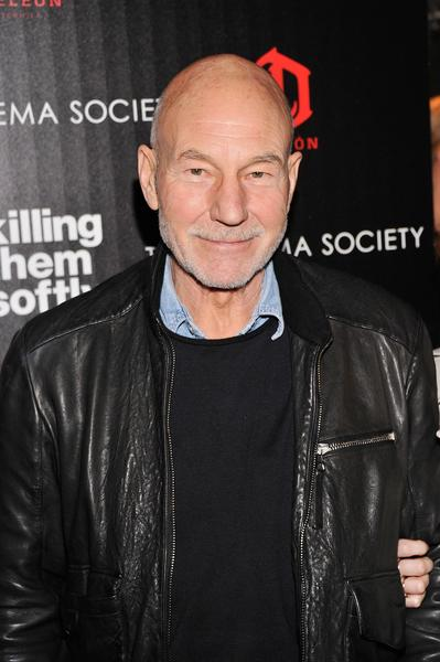 """Star Trek"" and ""X-Men"" actor Patrick Stewart."