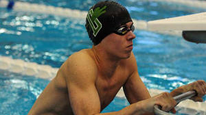 Derby swim eyes top 10 state finish behind Hill, Sandstrom