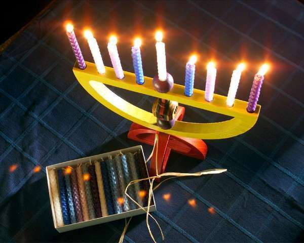 Now, some Hanukkah candies taste better than the candle wax from the menorah -- but more important, they don't exploit the forced labor of children.