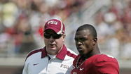 TALLAHASSEE -- Florida State defensive coordinator Mark Stoops is leaving FSU to become the head coach at Kentucky.