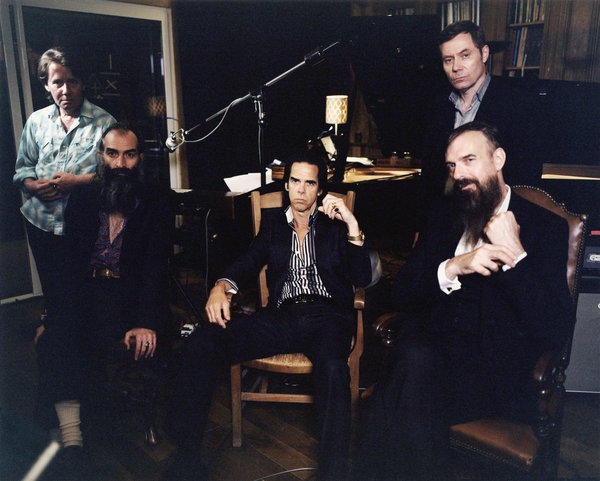 "Nick Cave and the Bad Seeds will release a new album, ""Push the Sky Away,"" on Feb. 19."
