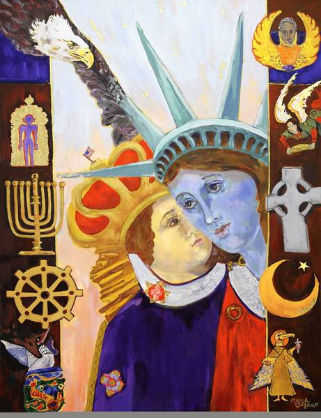 """A Flock of Faiths are We,"" by Melissa Croghan."