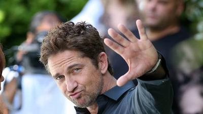 Gerard Butler reveals his secret crush in Miami