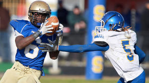 Smithfield High football team optimistic about future after controversial regional loss