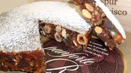 There are few winter sweets I like better than panforte. It's a Tuscan confection, dense and chewy, almost more like candy than cake. The mingled flavors of citrus zest, toasted nuts and cocoa as well as warm spices like cinnamon, allspice and clove seem almost medieval in their complexity. It's the kind of sweet you eat by the thin wedge – but that small piece (with a good short espresso) is enough to haunt you for days.