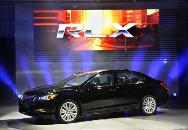 The Acura RLX - The new RLX