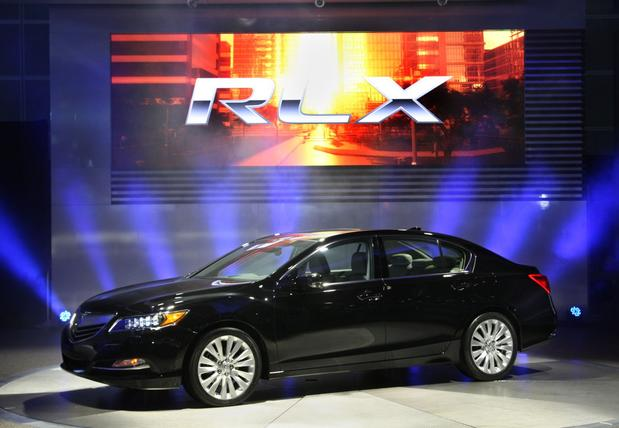The RLX will be powered by a new 310-horsepower direct-injected V-6 that's expected to get 20 miles per gallon in the city, 31 on the highway and 24 combined.