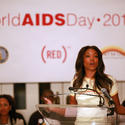 Actress and activist Gabrielle Union attends the World AIDS Day event at Brooklyn Borough Hall on December 1, 2010 in New York City.