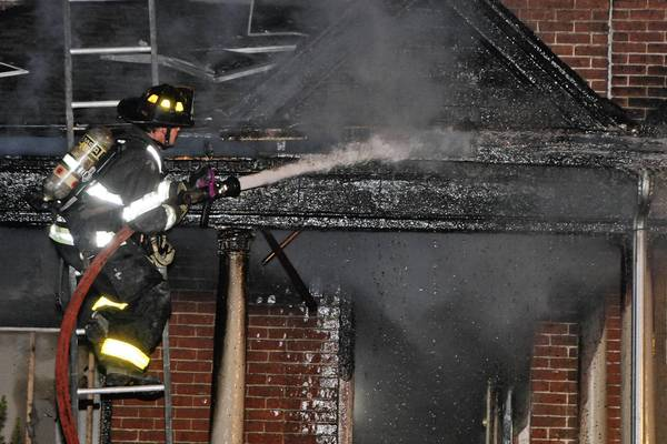 Firefighters from the City of Bethlehem responded to a two-alarm fire at 447 Montclair Av around 2 a.m. Tuesday morning.