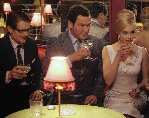 """Julian Rhind-Tutt, left, Dominic West and Hannah Tointon star in Season 2 of """"The Hour."""""""