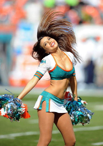 The Hottest of the Hot Cheerleaders of 2012: Miami Dolphins