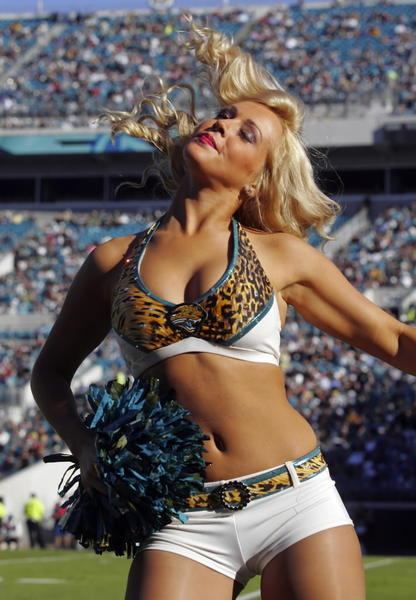 The Hottest of the Hot Cheerleaders of 2012: Jacksonville Jaguars