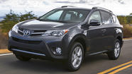 Toyota kicked off the 2012 Los Angeles Auto Show Wednesday morning with the world debut of the all-new 2013 RAV4, the first redesign of the hot-selling small SUV in seven years.