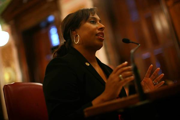 State Sen. Toi Hutchinson is a serious and competent woman who grew up in the 2nd District.