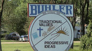 Group explains complaint to take cross off Buhler city seal