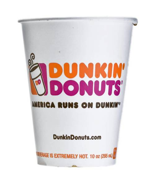 "Dunkin' Donuts' tried to trademark the phrase ""best coffee in America."""