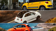 L.A. Auto Show: Fiat unveils trio of new models