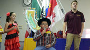 IMPERIAL — To help set the stage for this year's Walk Through California presentation, fourth-graders dressed to impress in their best cowboy, Native American and Mexican señorita costumes at Ben Hulse Elementary School here Tuesday.