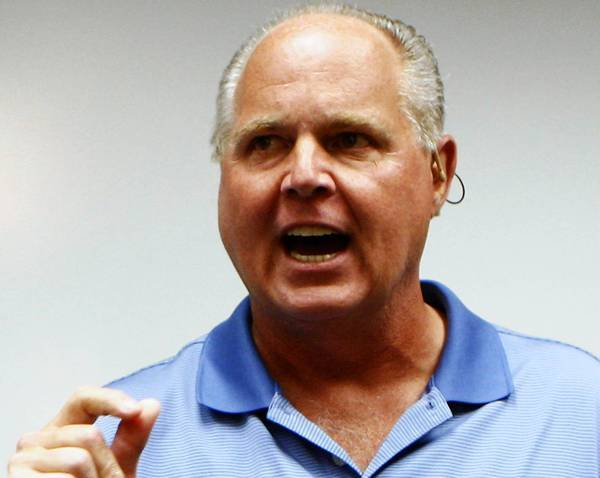 Rush Limbaugh's talk show helped KFI-AM widen its lead in ratings for November.