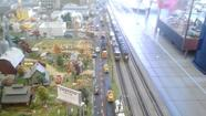 Arbutus Auto Painting train garden [Pictures]