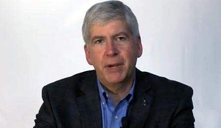 Michigan Gov. Rick Snyder, R-Ann Arbor.