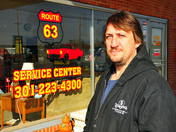 Dennis Smith owns Route 63 Service Center, which opened Sept. 24 at 11626 Greencastle Pike in Hagerstown.