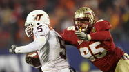 TALLAHASSEE -- Bjoern Werner's banner junior season received even more attention and acclaim Wednesday afternoon when the Florida State defensive end was named the ACC's Defensive Player of the Year. The Berlin, Germany, native led the Seminoles with 13 sacks during a regular season that saw them finish as Atlantic Division champions.