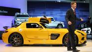 L.A. Auto Show: Mercedes unleashes SLS Black Series
