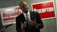 Disgraced former U.S. Rep. Mel Reynolds said he will ask voters to focus on his congressional experience rather than his state and federal criminal record as he announced his bid today for the seat held by Jesse Jackson Jr., who has resigned.