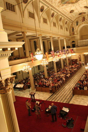 St. Louis Cathedral, on Jackson Square in New Orleans, is hosting a series of Christmas concerts.