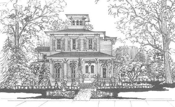 Home rendering by Sue Sanders