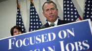 Boehner calls GOP tax-hike fight 'principled'