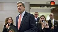 "<span style=""font-size: small;"">WASHINGTON (AP) — Sen. John Kerry is angling to be the nation's top diplomat by being, well, diplomatic.</span>"