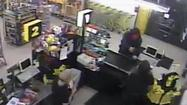 The Roanoke Police Department has released surveillance pictures of the robbery.