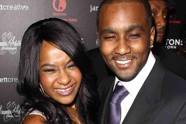 "Bobbi Kristina Brown, shown with ""adopted brother"" Nick Gordon at the premiere of ""The Houstons On Our Own,"" wrecked her Chevy Camaro near her Alpharetta, Ga., apartment complex Wednesday."