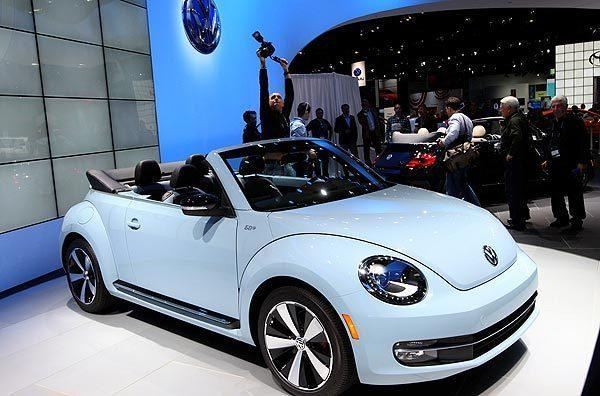 The 2013 Beetle Convertible is the third generation of the ragtop model, following in the footsteps of the type 15 introduced in 1949 and the New Beetle Convertible that was introduced in 2003.