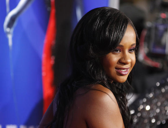 Bobbi Kristina Brown, daughter of the late singer Whitney Houston