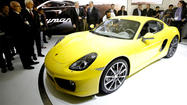 L.A. Auto Show: 2014 Porsche Cayman makes world debut