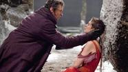 "For most of ""Les Misérables,"" things do not go well for Fantine. Abandoned by the father of her child, she goes on a long spiral down the economic ladder and winds up working in a brothel. And although she's always featured with a splash of color in the film, by the time she's selling her body there's only one color left for her to wear: red."