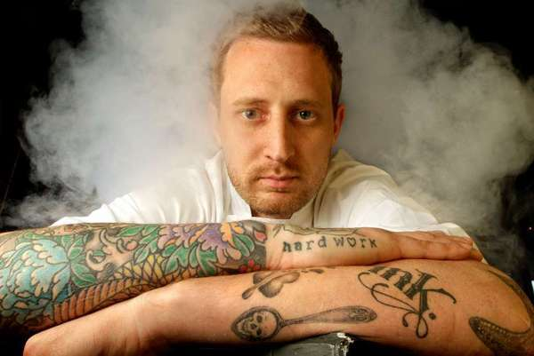 Dinner host Michael Voltaggio