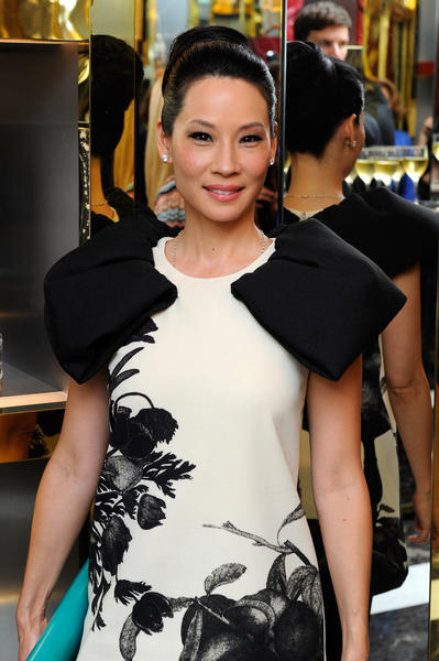 Did you know Lucy Liu plays the accordian? Ms. Liu is 43 today.