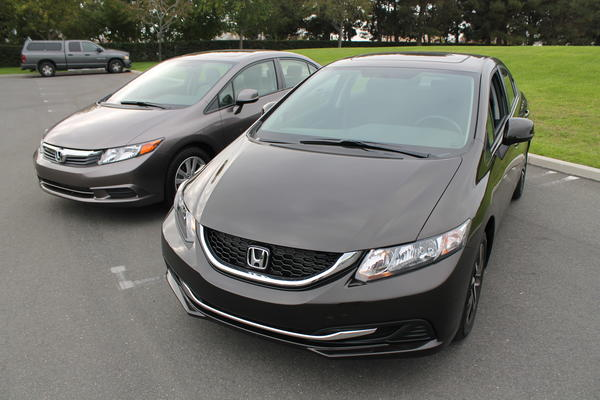 2013 Honda Civic redesign - Honda Civic refresh