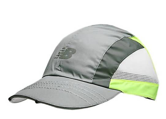 With four LED lights built into the brim, New Balance's running cap casts light forward and down so you can see what's in front you and underfoot, like a built-in headlamp. Neon colors and a reflective logo help others see you. Batteries have 30 hours of life and are replaceable. $29.99 at newbalance.com