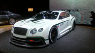 L.A. Auto Show: Bentley's new GT3 race car makes its U.S. debut