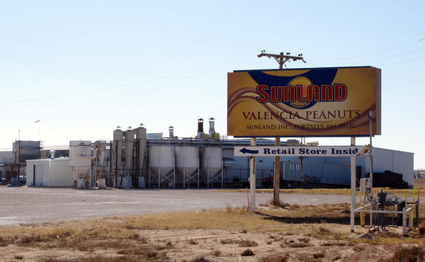 Sunland Inc., a peanut butter and nut processing plant in New Mexico
